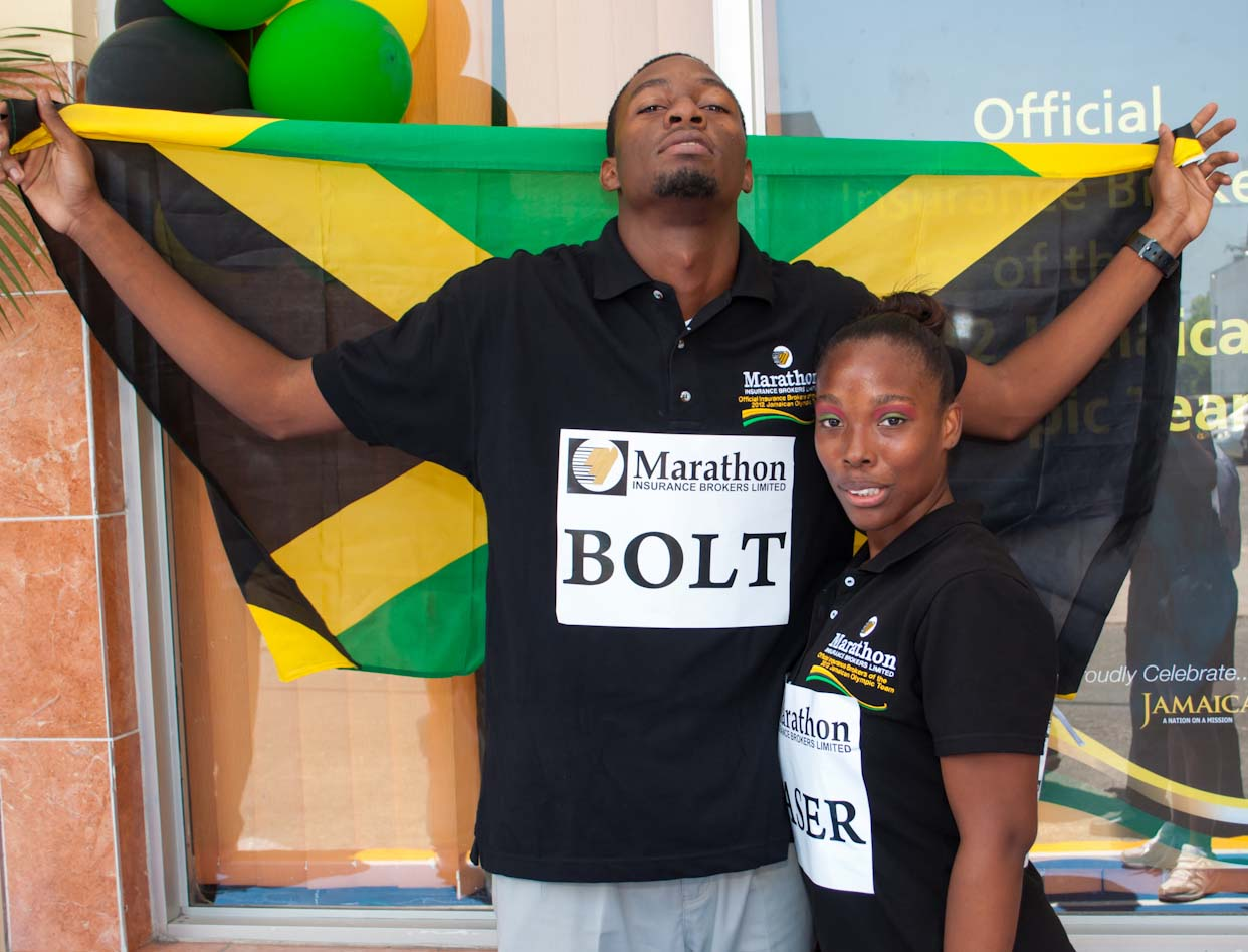 'Bolt', 'Fraser-Pryce' shine at Sidewalk Olympics
