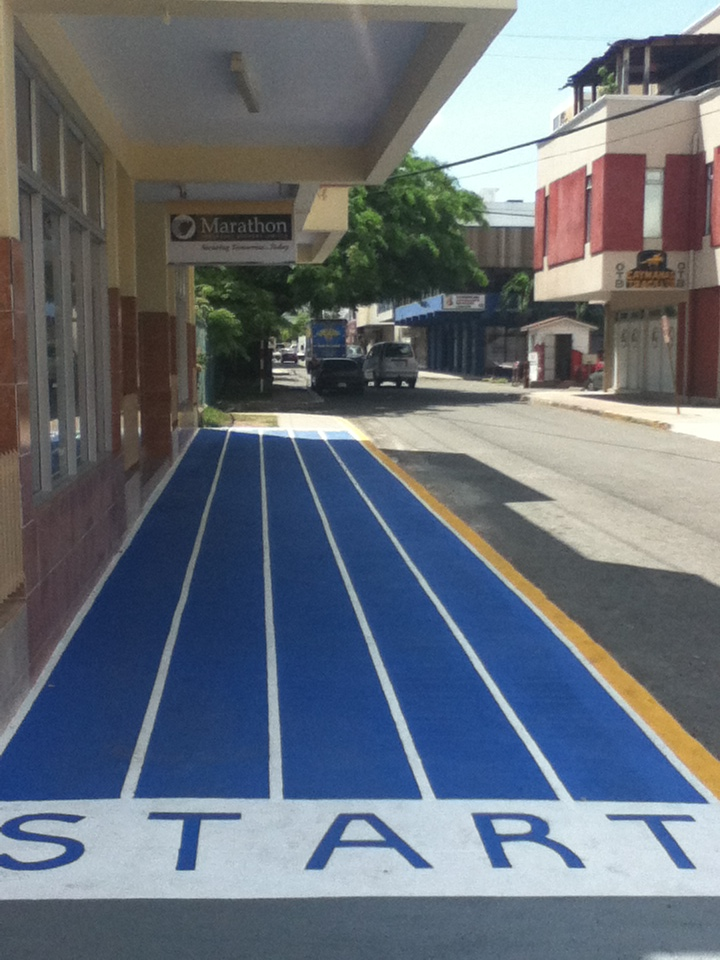 Marathon's Starting Line – Marathon Official Brokers to the Jamaican Olympic Team