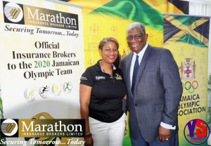 Marathon Insurance Brokers – Official Insurance Brokers to the 2020 Jamaican Olympic Team